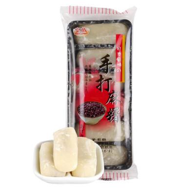 Mochi - Klebreiskuchen - Rote Bohnen (handgemacht) in Geschenkbox 180g