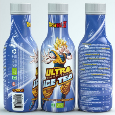 Ultra Ice Tea - Dragon Ball Z - Son Goku - Weißer Tee mit Pfirsich 500ml