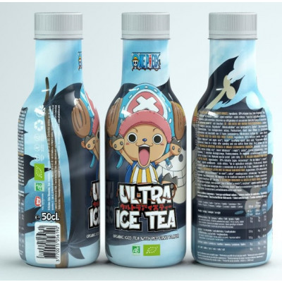 Ultra Ice Tea - One Piece - Chopper - Bio-Eistee mit roten Früchten 500ml