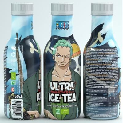Ultra Ice Tea - One Piece - Zorro - Bio-Eistee mit roten Früchten 500ml