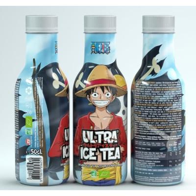 Ultra Ice Tea - One Piece - Ruffy - Bio-Eistee mit roten Früchten 500ml