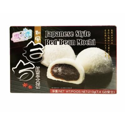 Mochi - Klebreiskuchen - Red Beans in Geschenk-Box 210g - Yuki & Love