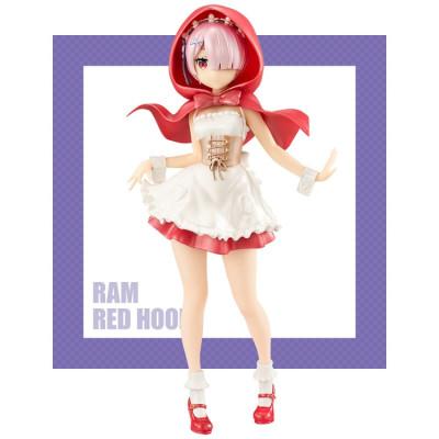 Re:Zero kara Hajimeru Isekai Seikatsu - Ram - Super Special Series - Red Hood Pearl Color Ver. 21 cm Figur