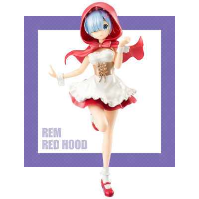 Re:Zero kara Hajimeru Isekai Seikatsu - Rem - Super Special Series - Red Hood Pearl Color Ver. 21 cm Figur