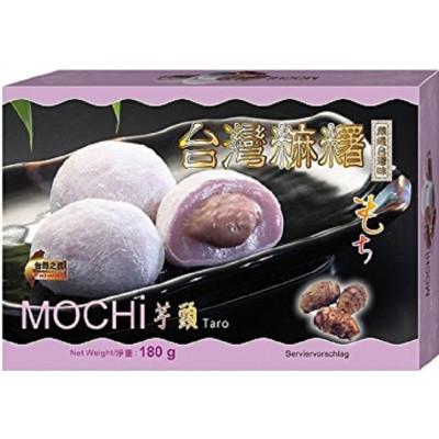 Mochi Klebreiskuchen mit Taro-Geschmack 180g Snack