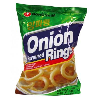 Nong Shim Zwiebel Ringe 50g Snack