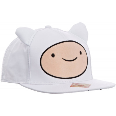 Adventure Time Snap Back Hip Hop Big Face Finn Cap