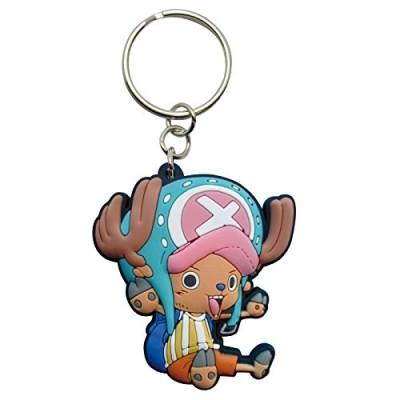 One Piece Chopper Gummi Schlüsselanhänger