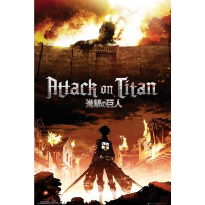 Attack on Titan Key Art Poster