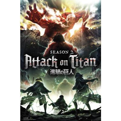 Attack on Titan Season Key Art Poster