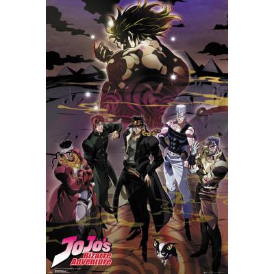 Jojo's Bizarre Adventure Group Poster
