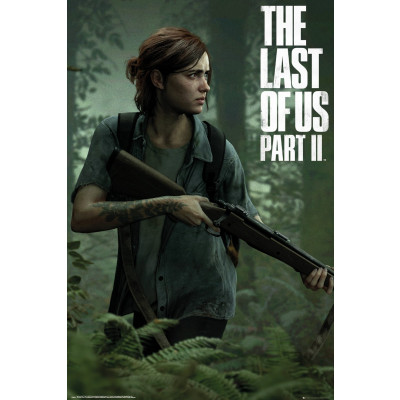 The Last of Us Part II Ellie Poster