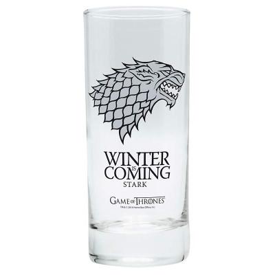 Game of Thrones Stark Glas