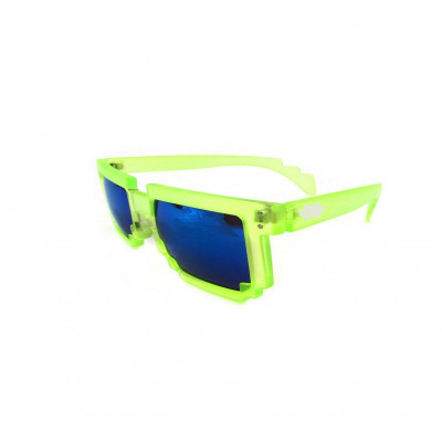 8 - BIT grün Pixel Sonnenbrille