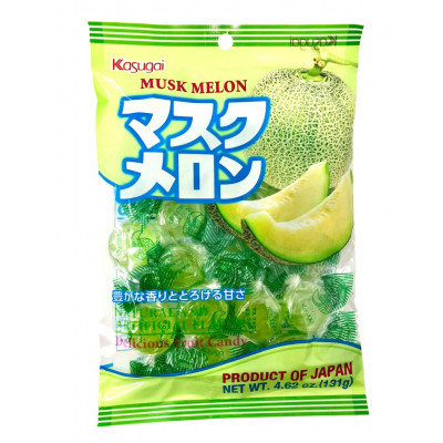 Kasugai Melon Bonbons Candy 131g Snack