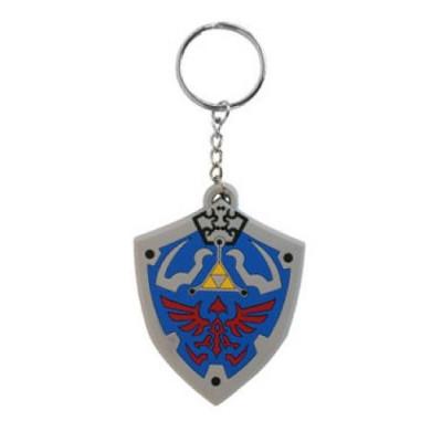 Legend of Zelda Hyrulian Crest Twilight Princess 7cm Gummi Schlüsselanhänger