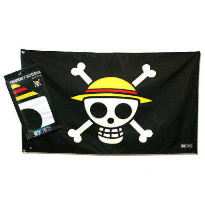 One Piece Piraten Ruffys Strohhutbande 70x120 cm Flagge