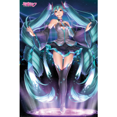 Vocaloid Miku Hatsune Poster