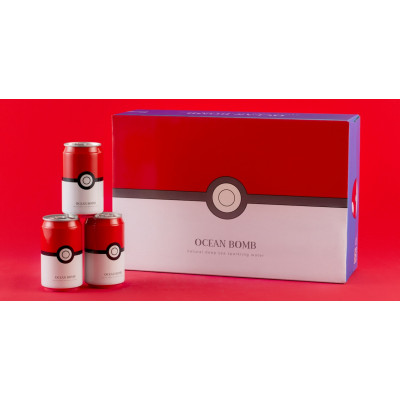 Ocean Bomb Pokeball Pokemon Original Flavour 330ml Dose