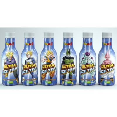 12x Ultra Ice Tea - Dragon Ball Z - Weißer Tee mit Pfirsich 500ml - Misch-Case