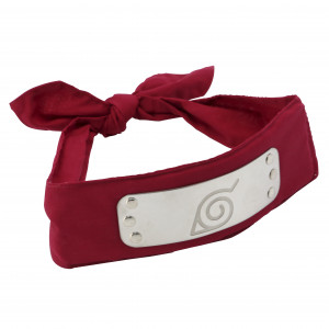 Naruto Konoha Special Red Mage-World Exclusive Version Stirnband