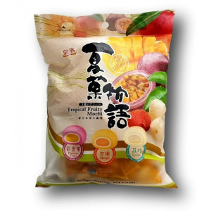 Mochi - Klebreiskuchen - Tropical Fruit Mix in Geschenk-Box 120g