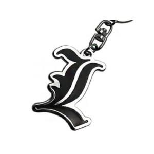 Death Note L Symbol Schlüsselanhänger
