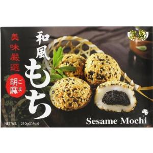 Mochi - Klebreiskuchen - Sesam in Geschenk-Box 210g Snack