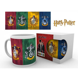 Harry Potter Hogwarts Häuser 320ml Tasse