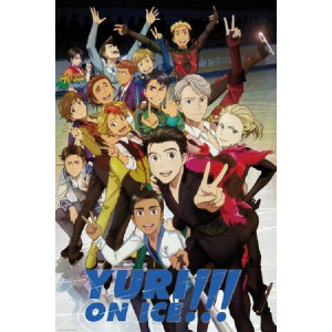 Yuri!!! On Ice Characters Poster