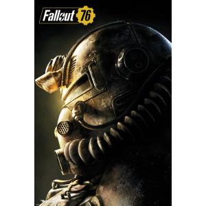 Fallout 76 Powerrüstung T-51b Poster