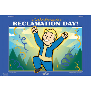 Fallout 76 Celebrate Reclamation Day Poster