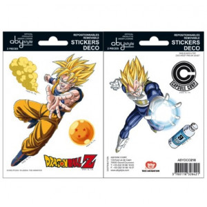 Dragon Ball Goku Vegeta Sticker Set