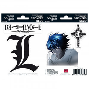 Death Note L Sticker Set