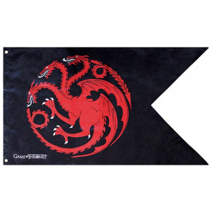 Game of Thrones Targaryen 70x120 Flagge