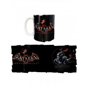 Batman Arkham Knight Black 320ml Tasse