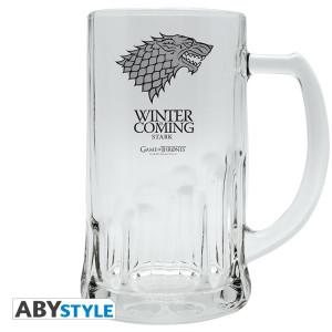 Game Of Thrones Stark 0,5l Bierglas