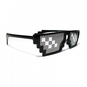 Deal with it! Pixel Sonnenbrille