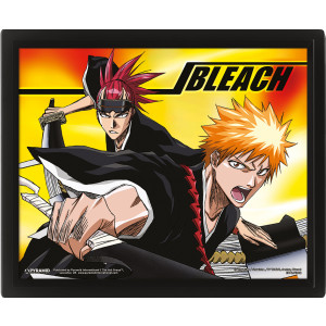 Bleach Team Up 26 x 20 cm 3D Rahmenbild