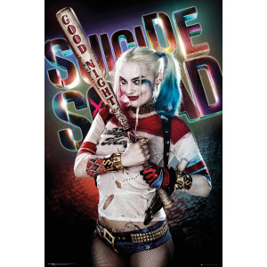 Suicide Squad Harley Quinn Good Night Poster