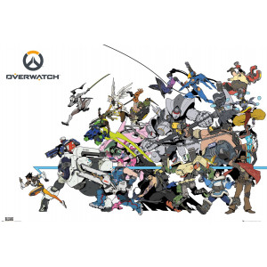 Overwatch Battle Poster