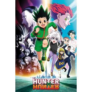 Hunter X Hunter Keyart Running Poster