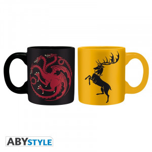 Game of Thrones Targaryen & Baratheon 110ml Tassen-Set