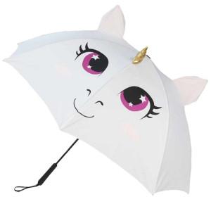 Einhorn Regenschirm mit Regenbogen-Schwanz