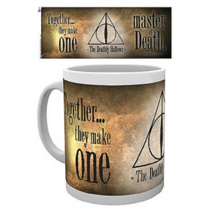 Harry Potter The Deathly Hallows 320ml Tasse