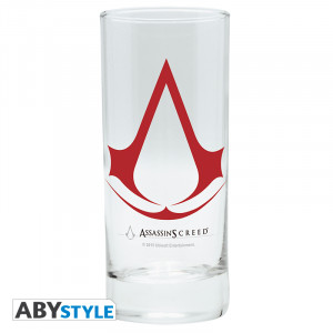 Assassins Creed Logo Glas