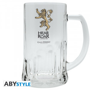 Game Of Thrones Lannister 0,5l Bierglas