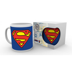 Superman Logo 320ml Tasse