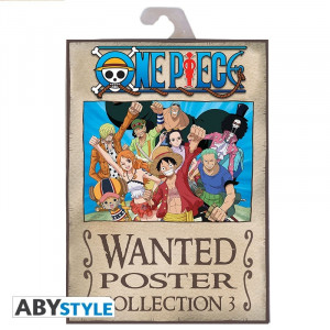 One Piece Wanted Poster Collection Vol. 3 Poster Set