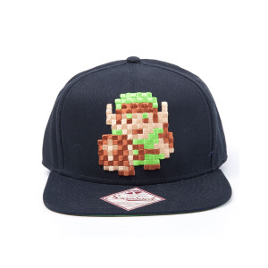 The Legend of Zelda Link 8bit  Hip Hop Cap